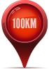 100km Support Radius for Toronto
