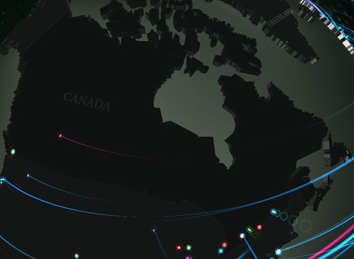 Kaspersky Infections Canada